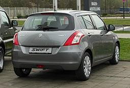 Suzuki Swift 1.2 Comfort (FZ NZ) - Heckansicht, 26. März 2011, Düsseldorf
