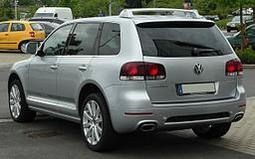 Für VW Touareg ohne Reserverad an der Hecktür 02-10 Anhängerkupplung starr