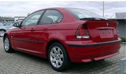 AHK Anhängerkupplung starr+ES 13p uni BMW 3er Compact E46 01-05 Kpl