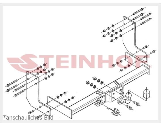 für Trittbrett+E-SATZ 13p SPEZ AHK Für VW CRAFTER I 3,5T 3,6m//4,3m
