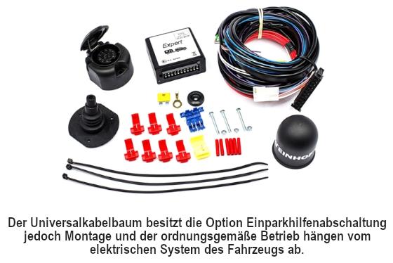 Abnehmbare Anh/ängerkupplung mit 13 p C2 E-Satz f/ür Volkswagen VW Transporter T5 Multitransporter 2003-2015 UT430COR61ZCM//WU403DE1